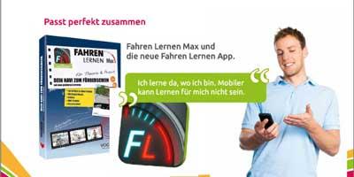 Fahren Lernen Max mit der App zum Führerschein – mobiler geht's nicht